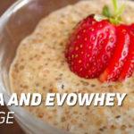 Quinoa and Evowhey Protein Porridge