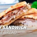 Turkey Sandwich with Oat Bread