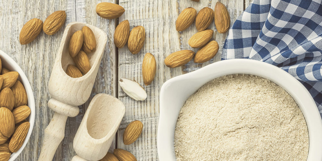 Almonds and flour