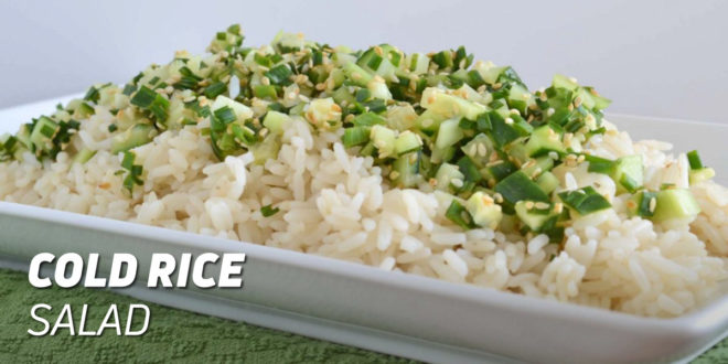 Cold salad with Basmati rice Recipe