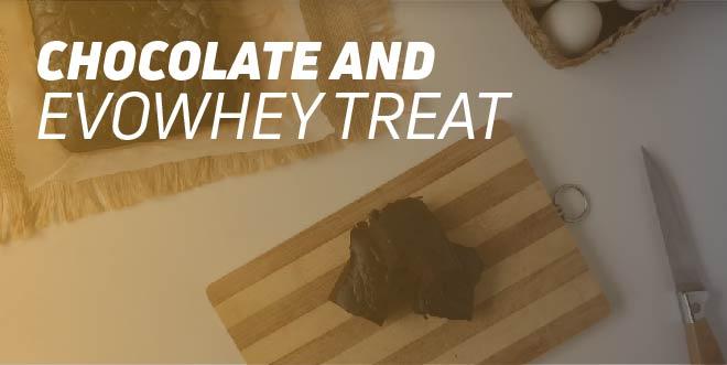 Chocolate and Evowhey Treat
