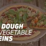 Pizza dough recipe with vegetable proteins