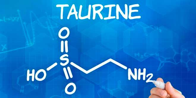 Taurine chemical structure