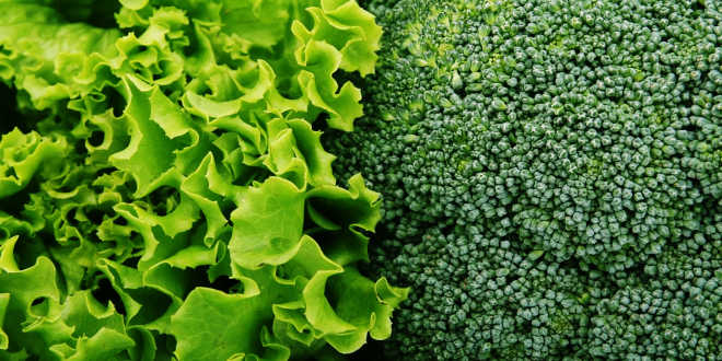 Green Vegetables and Vitamins