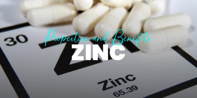Zinc in Diet: Properties and Benefits