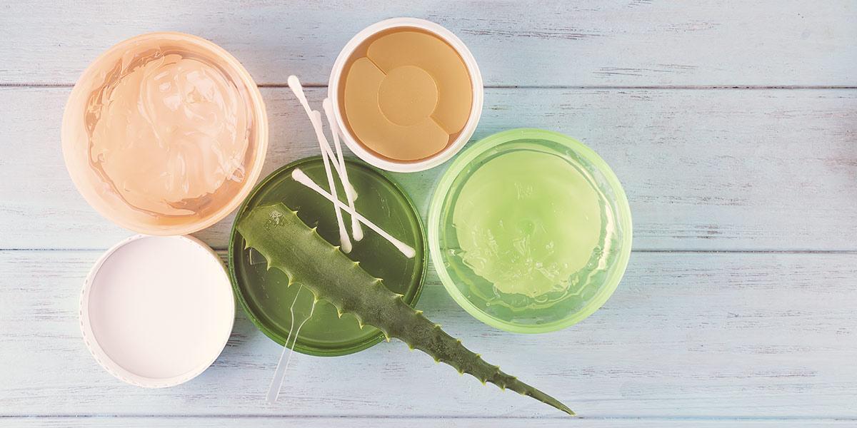 Collagen and Aloe vera
