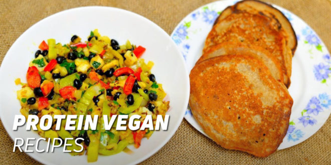 High protein vegan recipes