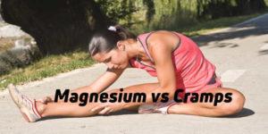 Magnesium against cramps