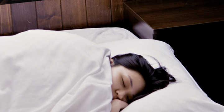 Melatonin and a restful sleep