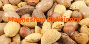 Magnesium deficit symptoms