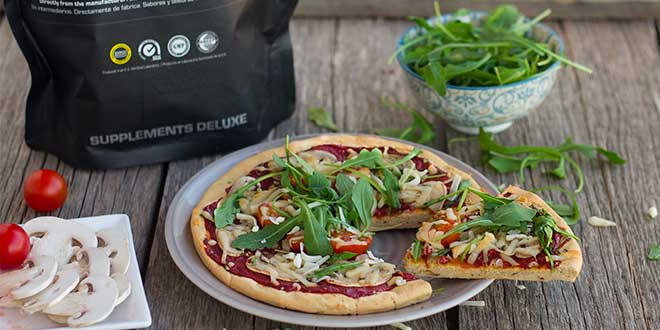 pizza vegetable proteins