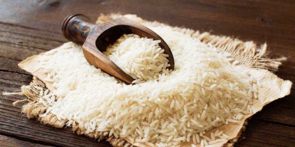 Scoop of rice