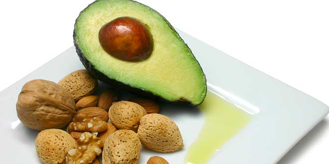 Avocado, source of vitamin E