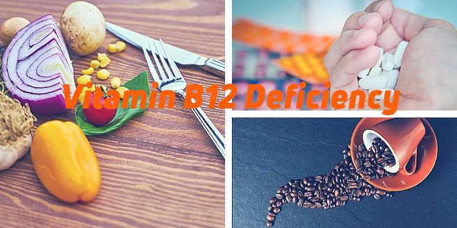A deficiency of Vitamin B12