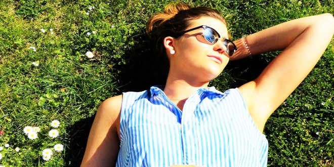 Sunbathe every day