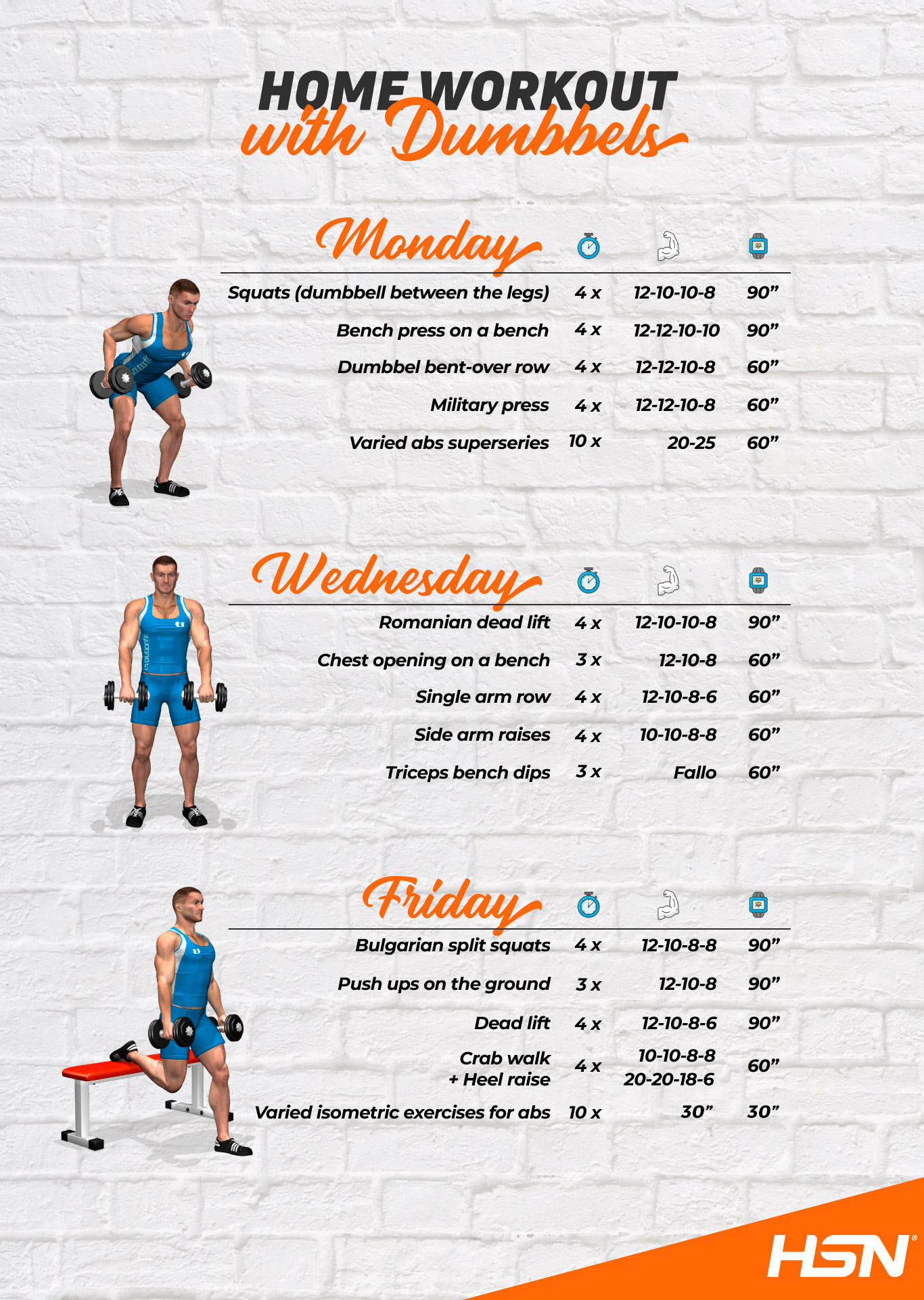 Home Workout with Dumbbells