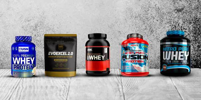 Whey protein isolate and concentrate blend