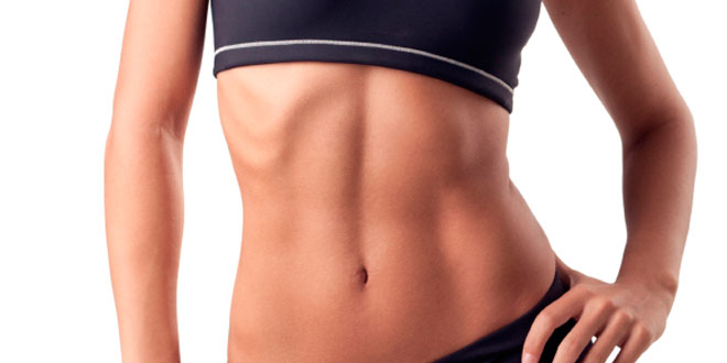 Defined abdomen