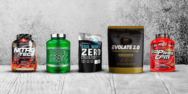 Whey protein isolate products