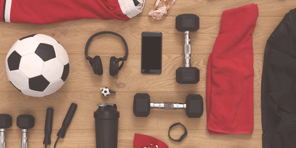 Football accessories workout