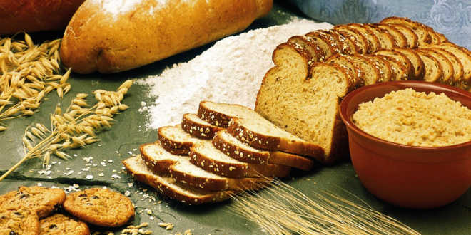 Oat bread and flour