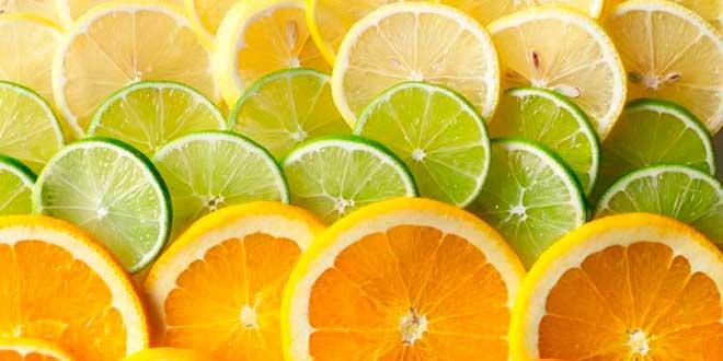 Citrus fruits and vitamin C