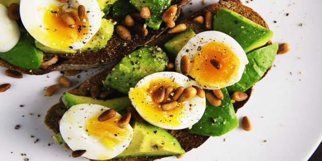 Egg avocado biotin sources