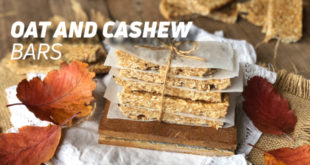 Oat and Cashew Bar Recipe