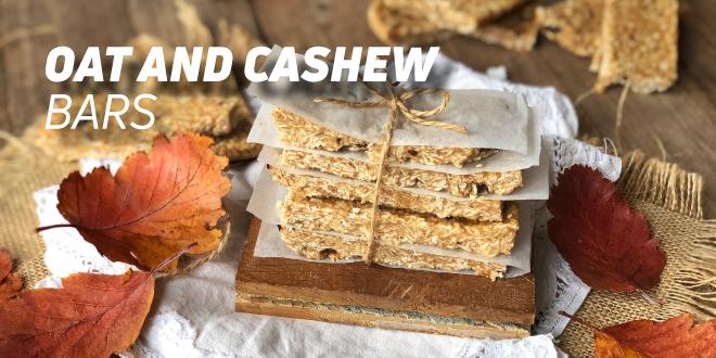 Oat and Cashew Bars