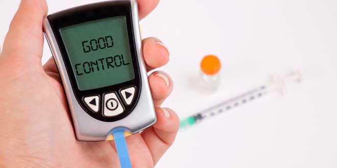 Good control of glucose