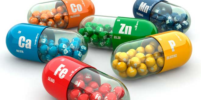 Mineral supplement capsules