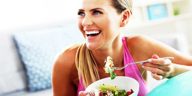 Eat healthily to lose weight