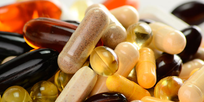 Vitamin and mineral capsules