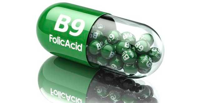 Folic acid capsule