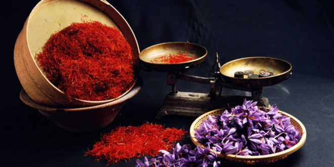 Saffron spice for cooking
