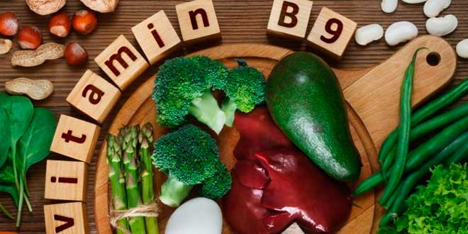 Sources of Vitamin B9