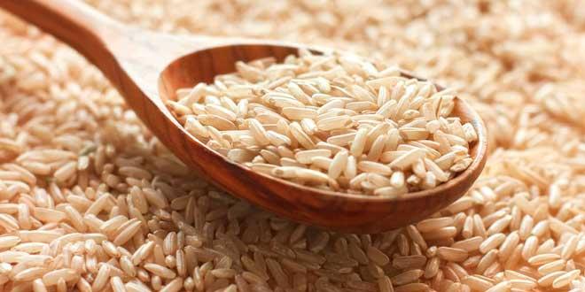 Whole rice and folic acid