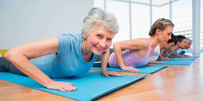 Physical exercise for the elderly