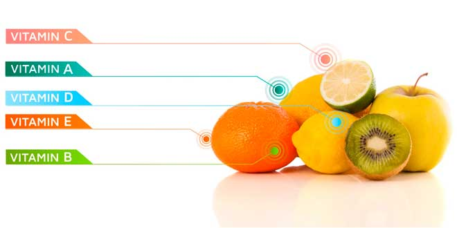 Different vitamins