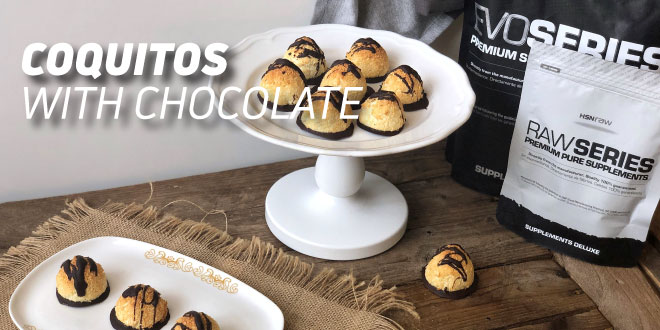 Coquitos with Chocolate