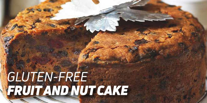 Gluten-free Fruit and Nut Cake