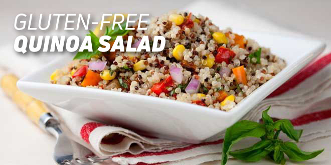 Colourful Gluten-free Quinoa Salad