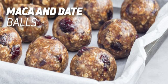 Maca and Date Balls Recipe
