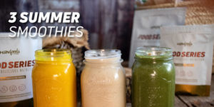 3 summer smoothies