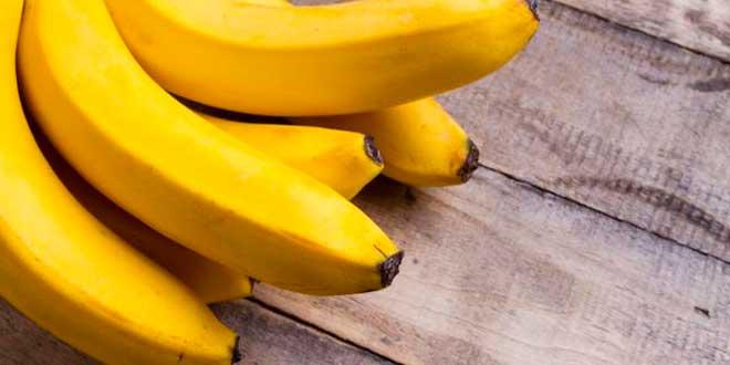 A handful of bananas