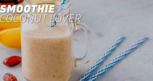 Coconut summer smoothie