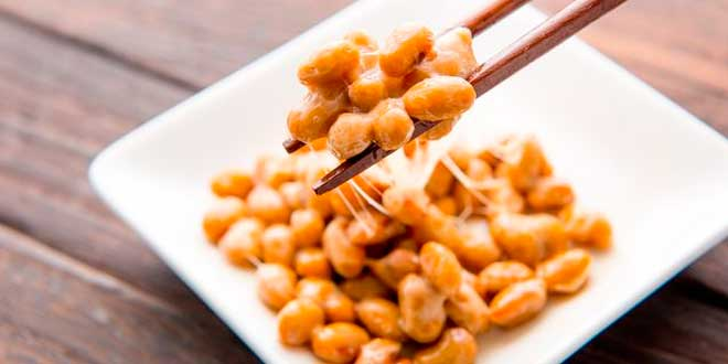 Dish of natto