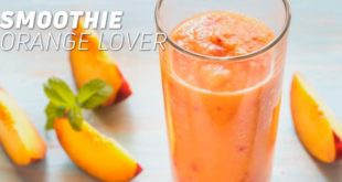 Orange lover smoothie