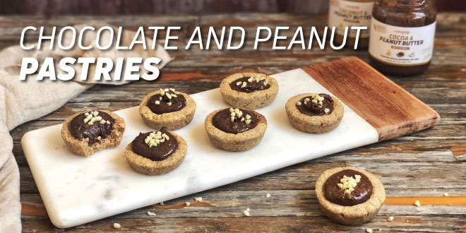 Chocolate and Peanut Pastries