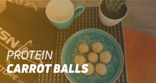 Protein carrot balls